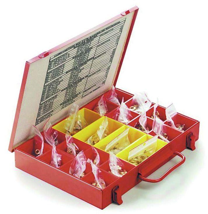 Bague de paumelle : Malette de bagues