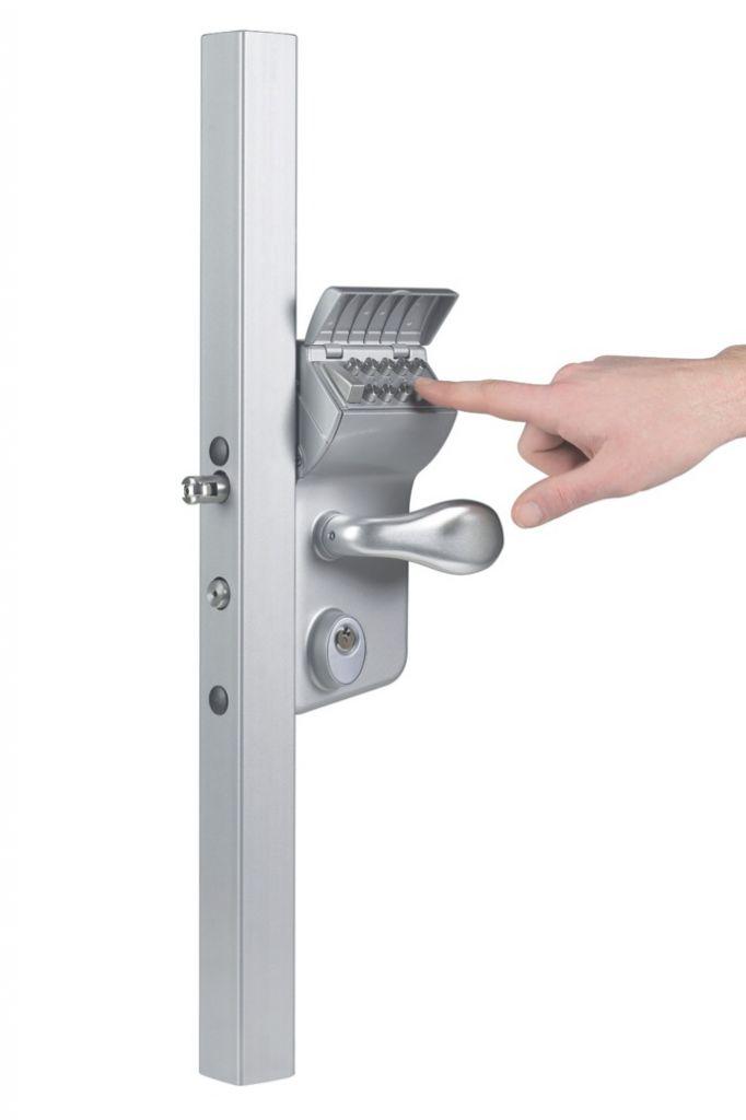 Verrouillage de portail : Serrure à code mécanique