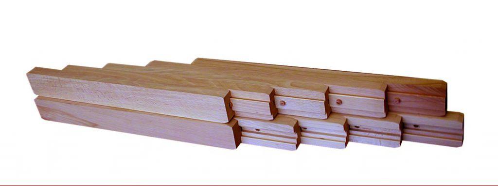 Coulisse à bille et bois : Hêtre