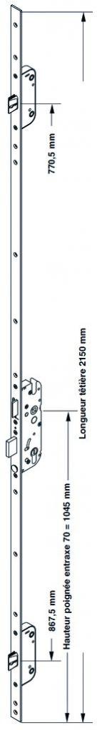 SECURY AUTOM. 50/70 T16 C7 L2150