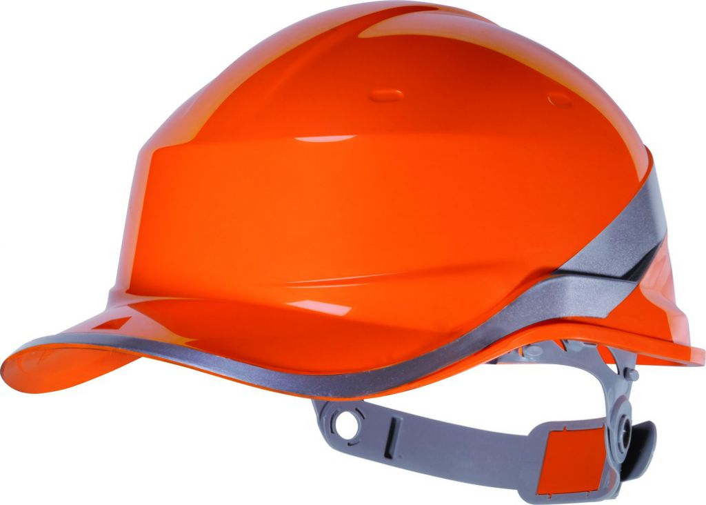 CASQUE DE CHANTIER ORANGE FLUO