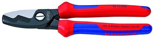 Coupe-câble à double tranchant