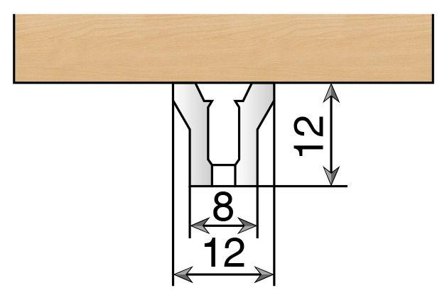 Crémaillère et console - Sofadi - pas de 37 mm : Crémaillère seule