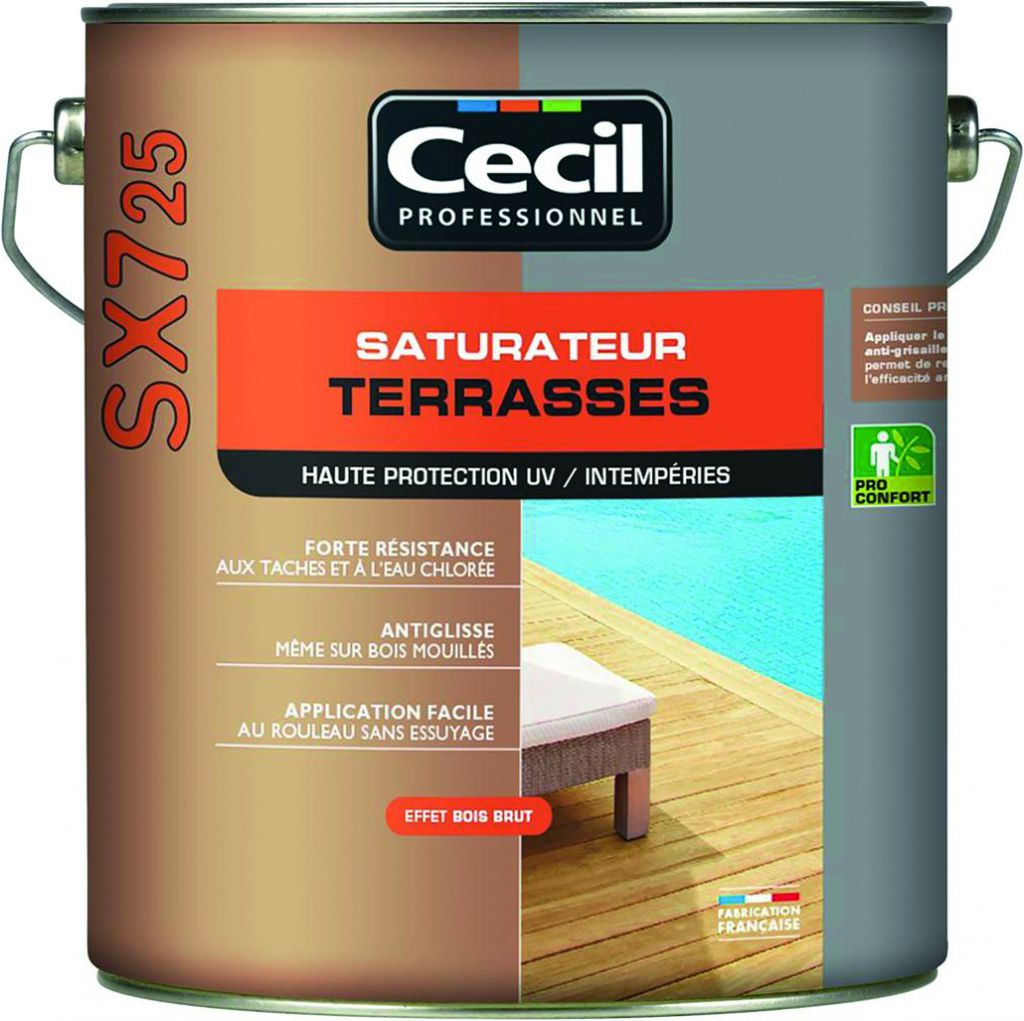 SATURAT.TERRASSE SX725 NATUREL 5L