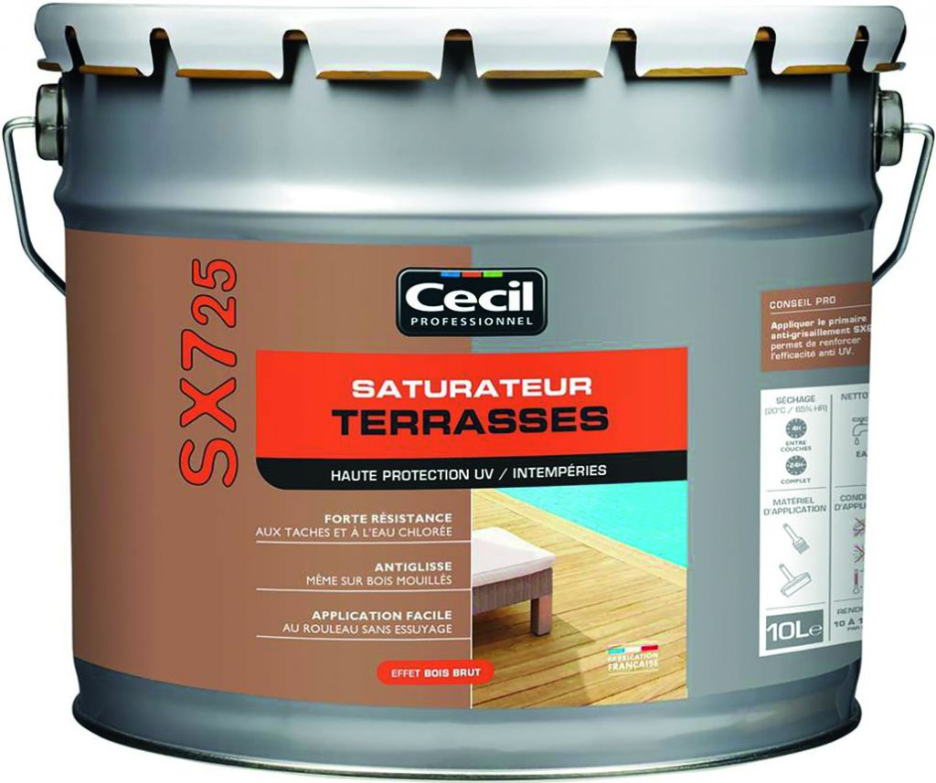 SATURAT.TERRASSE SX725 NATUREL 10L