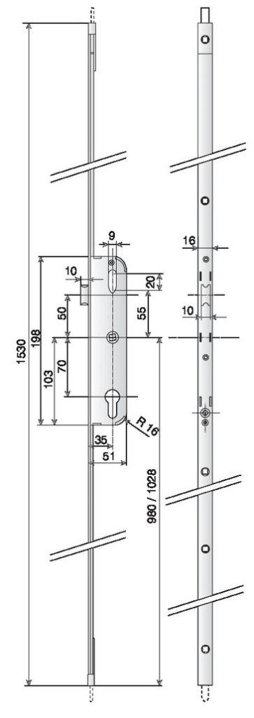 CREMONE VAC.CYL.1/2T+H/B A35 D 980