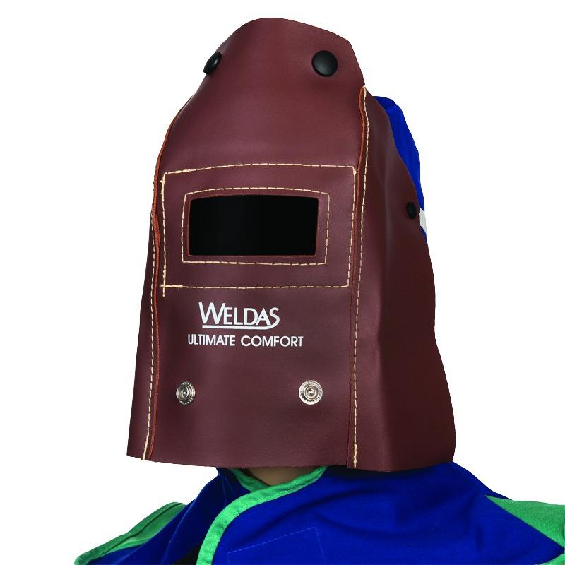 Soudure électrique : Masque portefeuille cuir