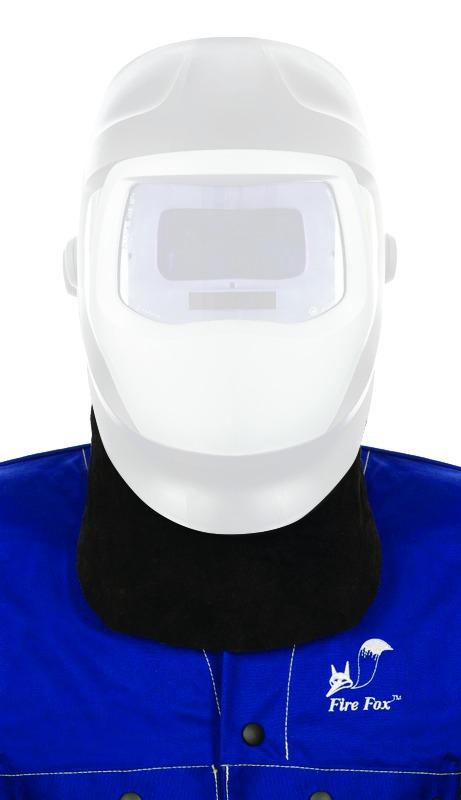 Protection soudeur   Protection cou cuir pour masque de soudure 0efb902db3f