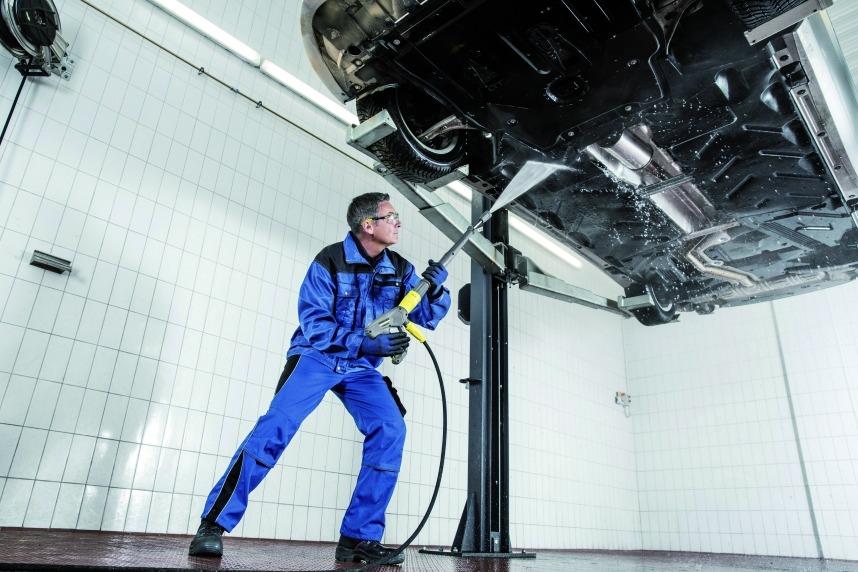 Nettoyage industriel : HDS 6/14 CX eau chaude monophasé
