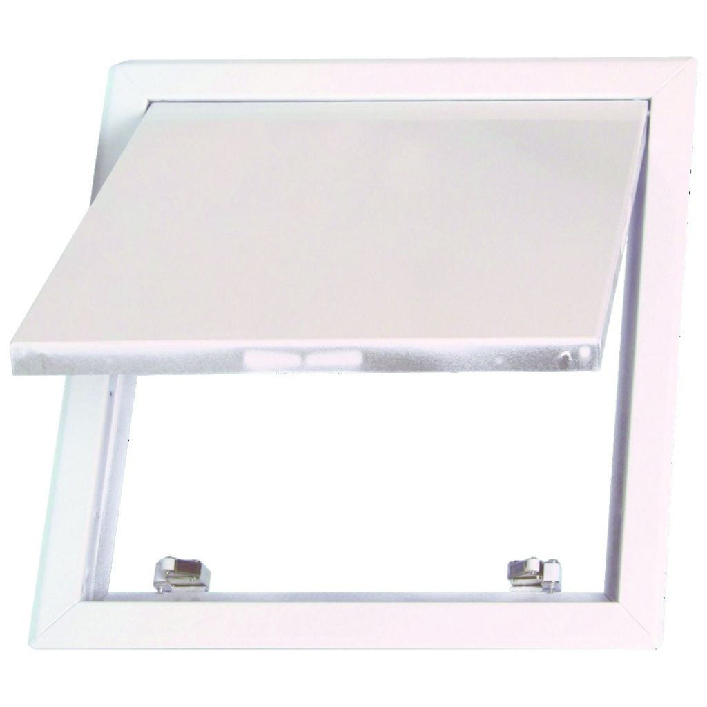 Picture of: Trappe Visite 200×200 Laque Blanc