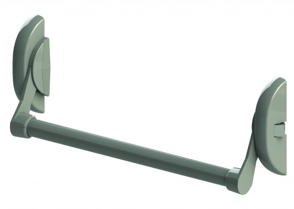 Fermeture anti-panique Metalux : Cross-bars anti-panique certifié CE EN 1125 - coupe-feu