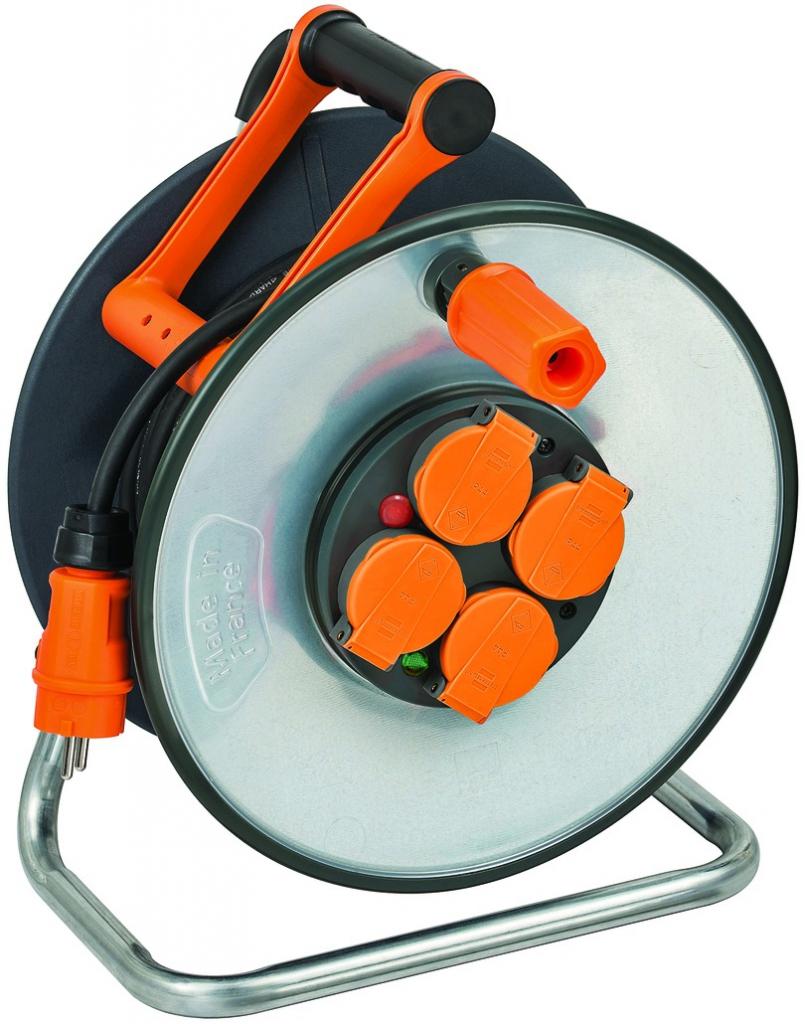 Enrouleur - prolongateur : Enrouleur Steelcore - câble HO7RNF