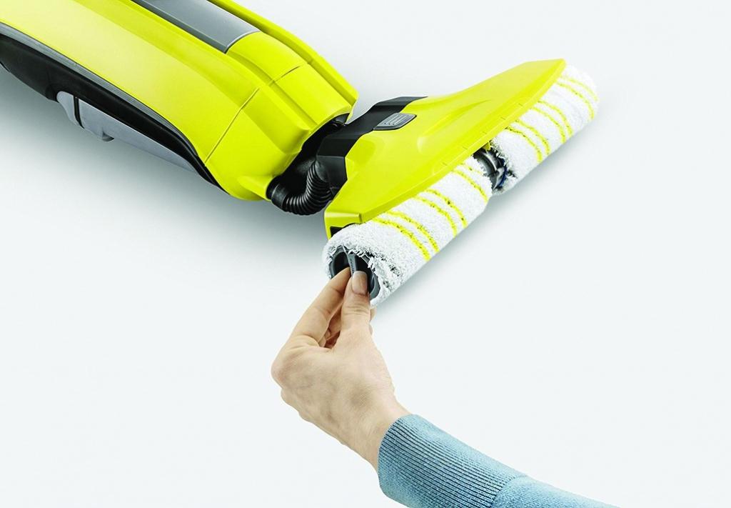Nettoyage industriel : Laveuse de sol  FC 5 Premium + nettoyeur de vitre WV1