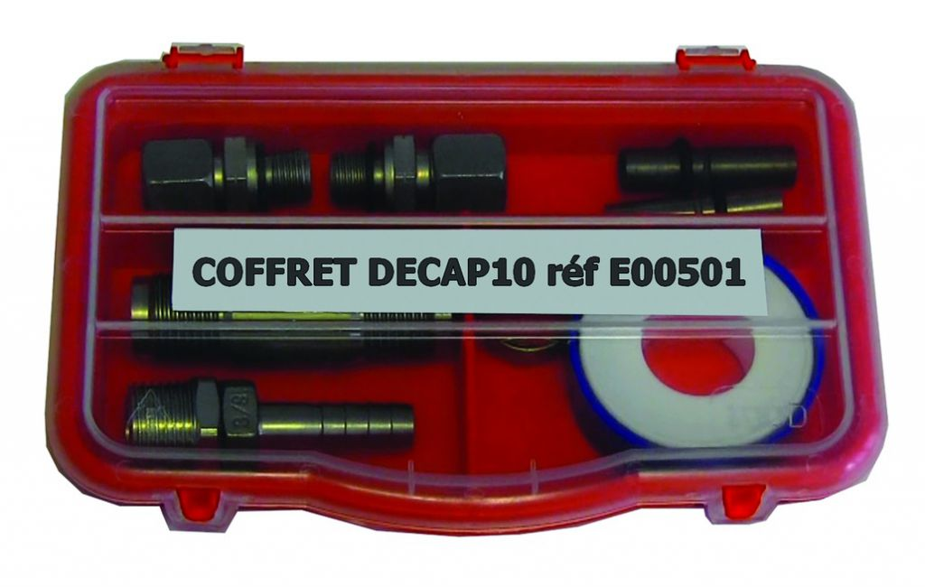 COFFRET DE MAINTENANCE DECAP10