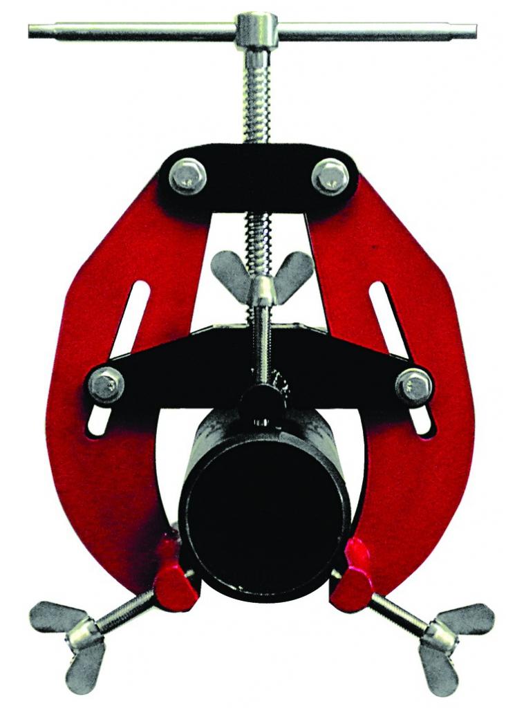 Connectique soudure et consommables : Bride d'alignement pour soudage de tuyaux - 'E-Z' FIT RED