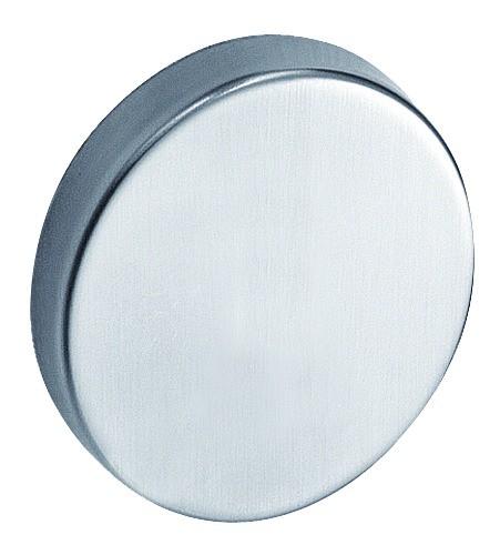 Garniture inox : Jeu de rosace ronde ø 53 mm - épaisseur 9 mm