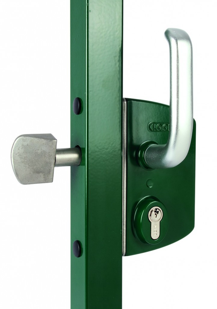 Serrure pour portail coulissant : Serrure pour coulissant sur profil carré ou rectangulaire LSKZ