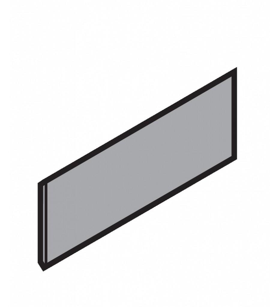 Côté de tiroir double paroi Blum - emballage industriel : Cache