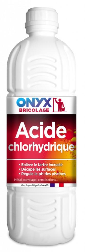 Retouche et traitement du bois : Acide chlorhydrique 23%