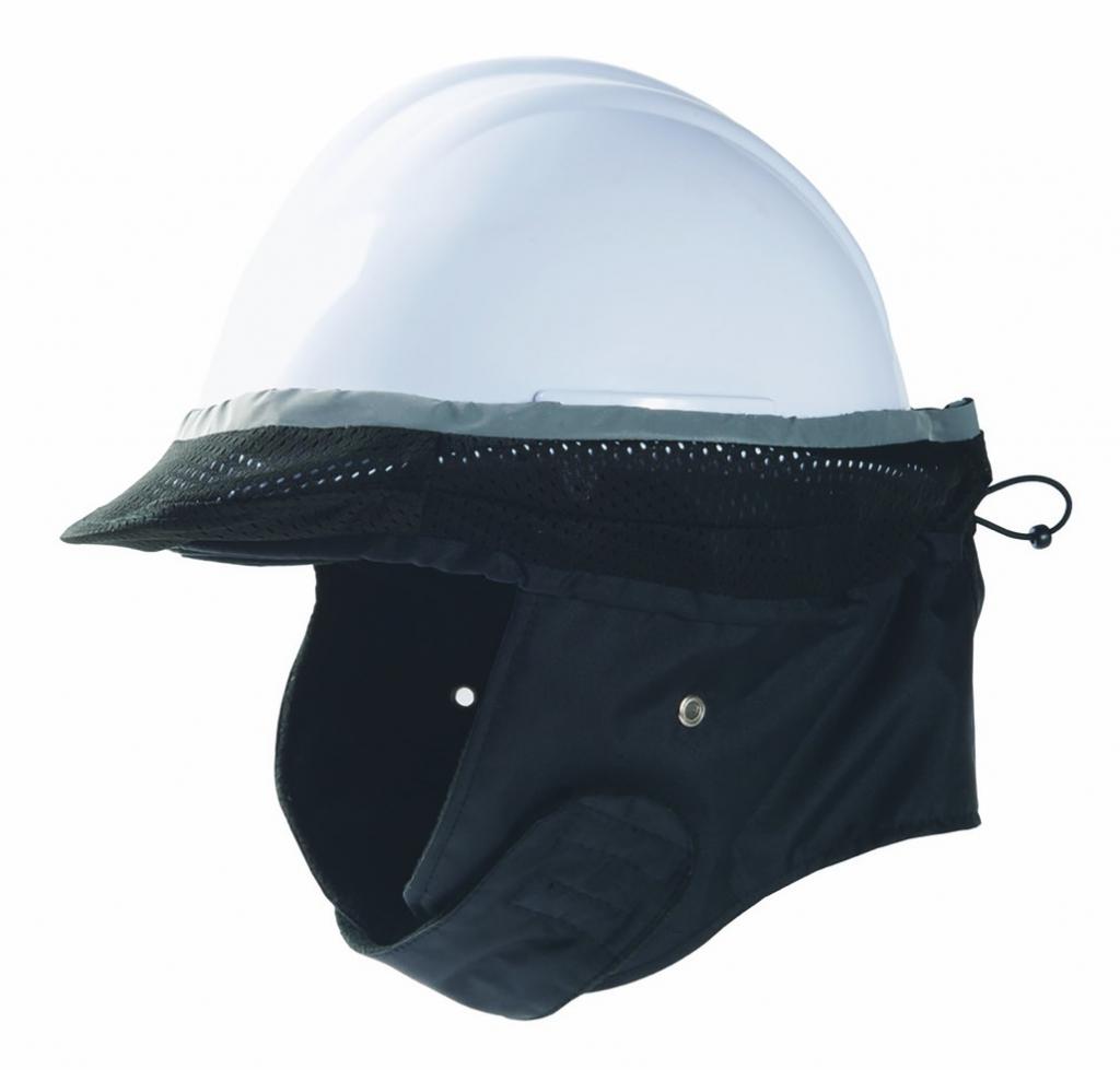 Casques de chantier   Coiffe de protection contre le froid pour casque de  chantier befbdde7681