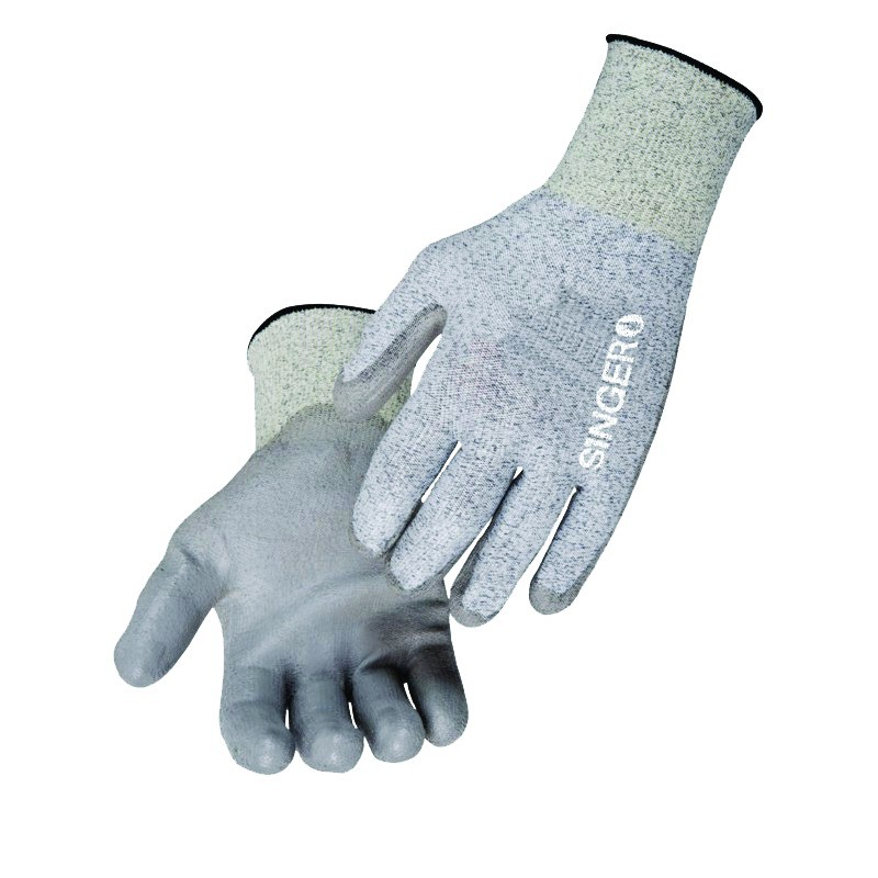Gants contre les coupures : Fibres PEHD enduction polyuréthane