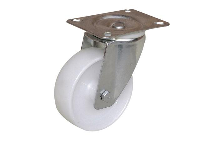 Roulette de manutention : Roue blanche - Port-Roll