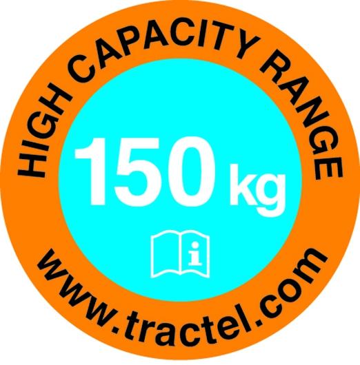 Harnais de sécurité Tractel : Antichute à rappel automatique à sangle blocfor™ 1.8A ESD 150kg
