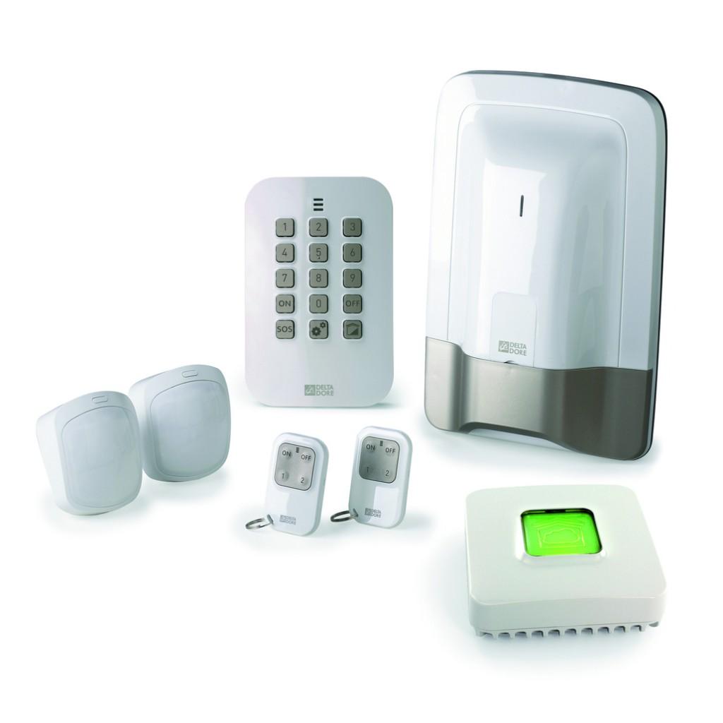Solution domotique : Pack alarme 2 zones sans fil  PACK TYXAL+ ACCESS