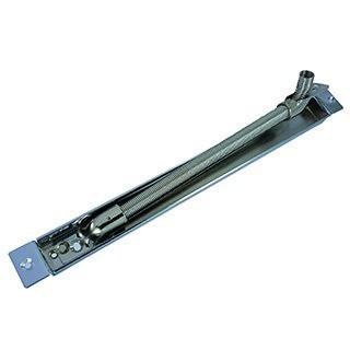Alimentation et accessoire : Flexible à encastrer en acier nickelé - ouverture 90°