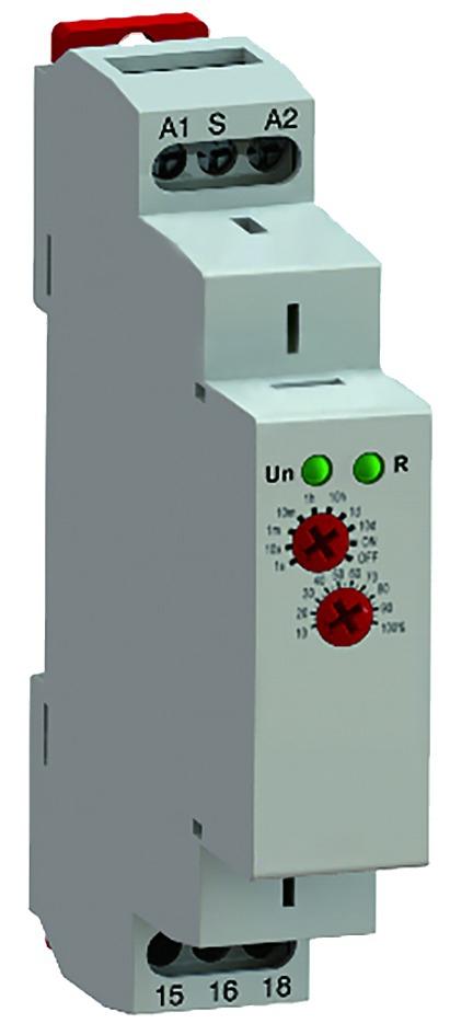 Appareillage modulaire : Relais temporisé rail DIN