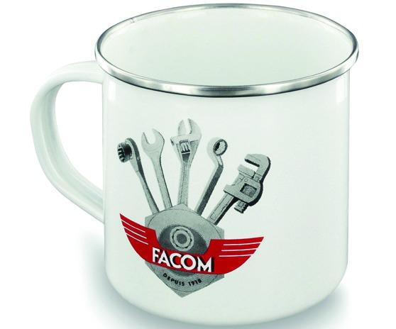 Clé à cliquet : Jeu 3 clés cliquet - 64C.J3100Y + mug vintage