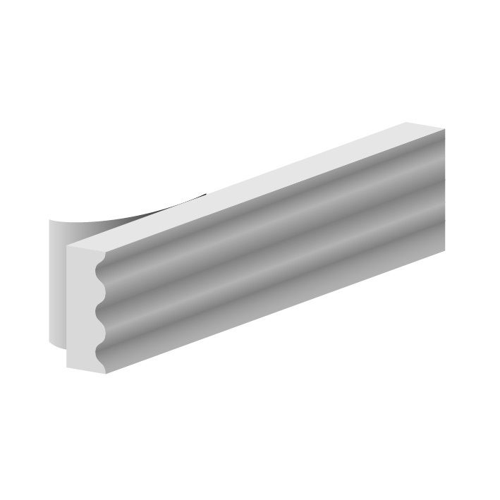 JOINT CAOUT.K 9X3MM BLANC     RL15M