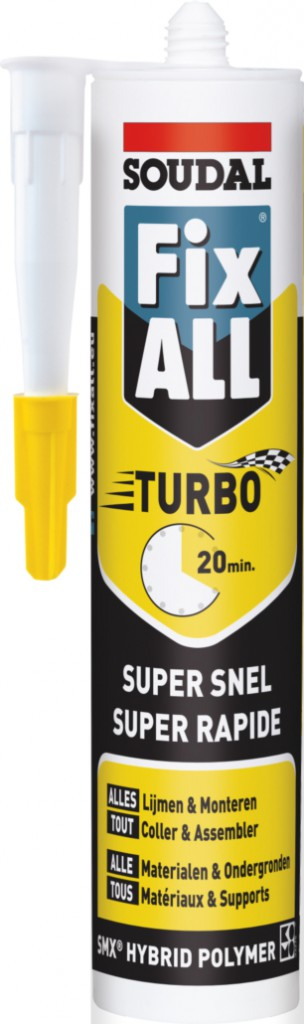 Colle : Mastic colle polymère hybride FIX ALL Turbo