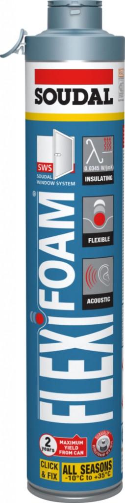 Joint : Mousse polyuréthane Flexifoam CLICK & FIX pistolable