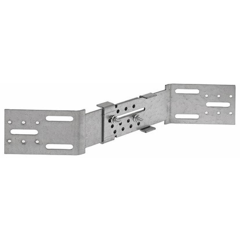 Connecteur métallique assemblage bois : Equerre angle sortant AB45C
