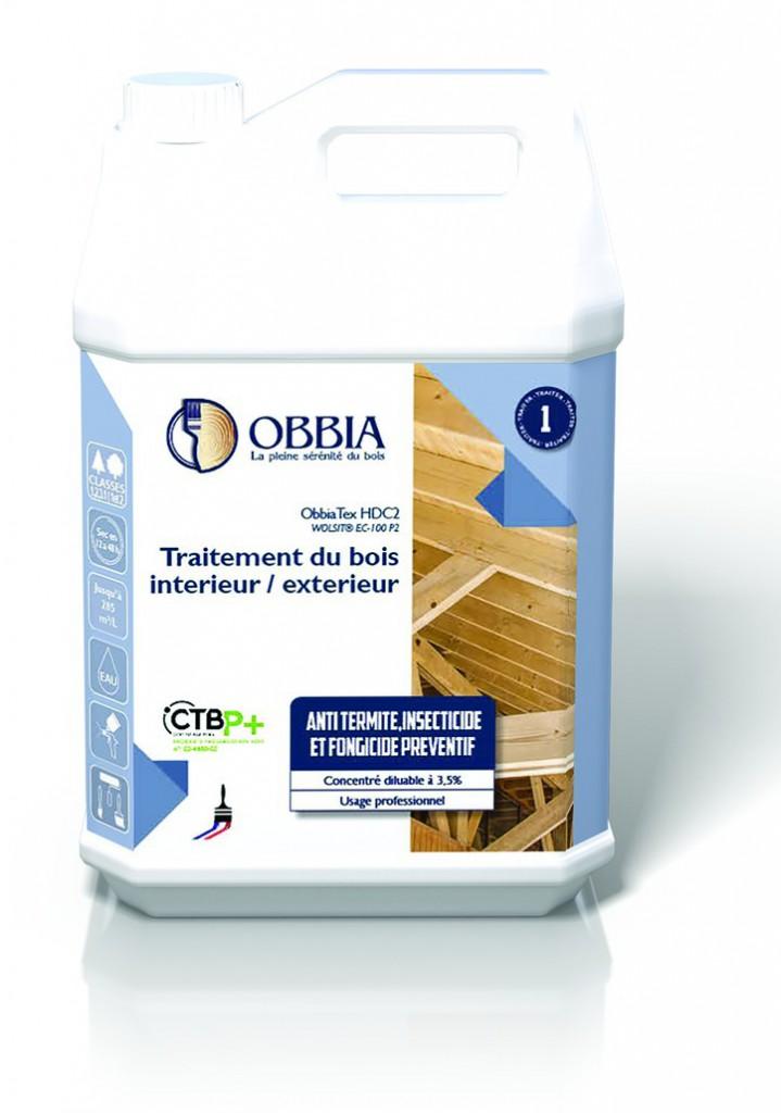 Traitement du bois : Obbiatex HDC2