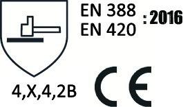 GANT EUROCUT N360 NITRILE NOIR T09