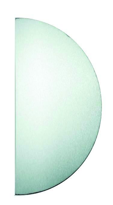 Plaque de propreté : Plaque de poussée demi-lune
