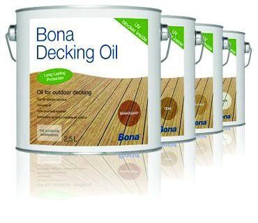 Traitement du bois : Bona decking oil