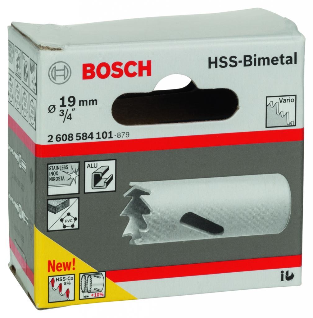 Trépan : Scie trépan HSS bi-métal à filetage standard
