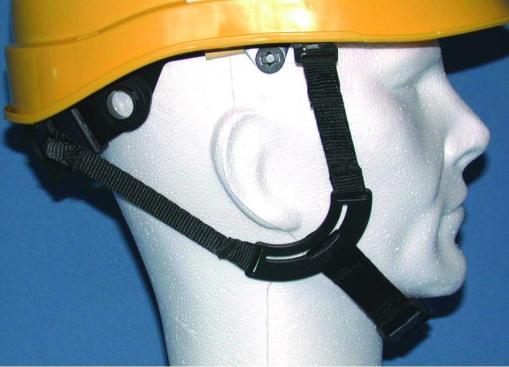 Casques de chantier : Jugulaire 4 points pour casques Iris 2 / Kara