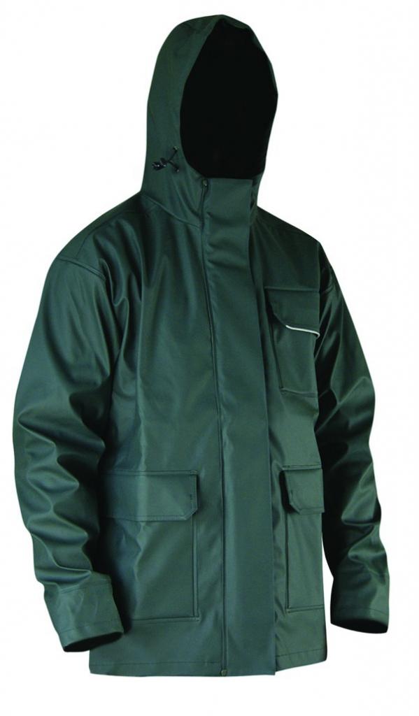 Vêtement de travail : Pantalon et veste de pluie kaki