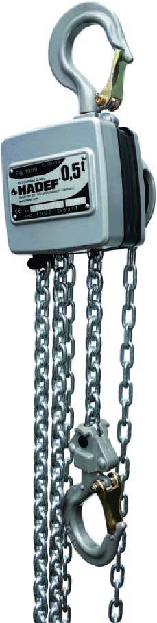Levage : Palan manuel aluminium