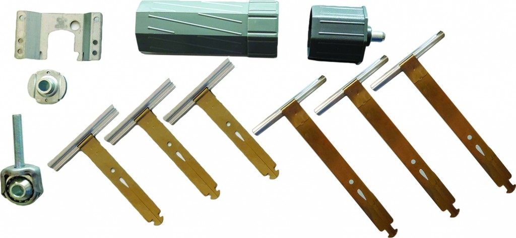 Volets/Stores : Kit 3 accessoires supports - adaptateurs - attaches