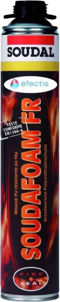 Joint : Mousse polyuréthane SOUDAFOAM coupe-feu pistolable
