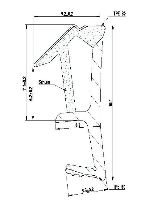 JOINT RECOUVREMENT SPV4512F NOIR ML
