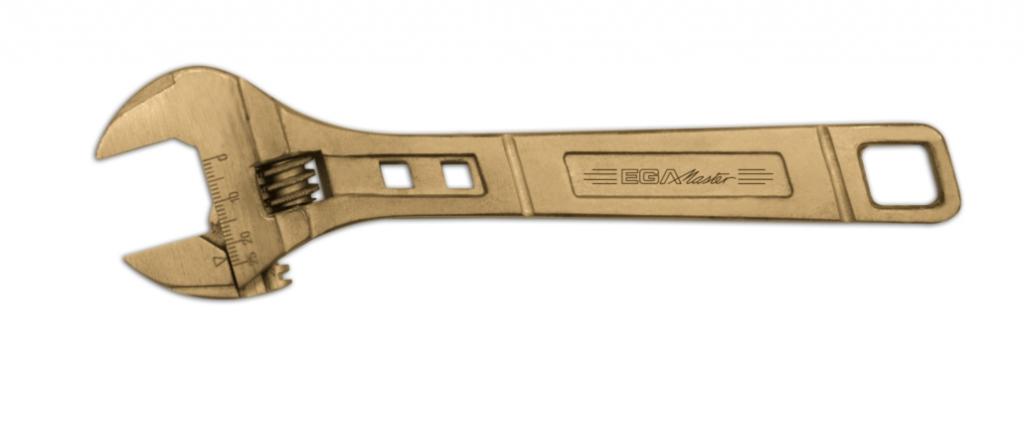 Outil anti-déflagrant cuivre-béryllium : A molette