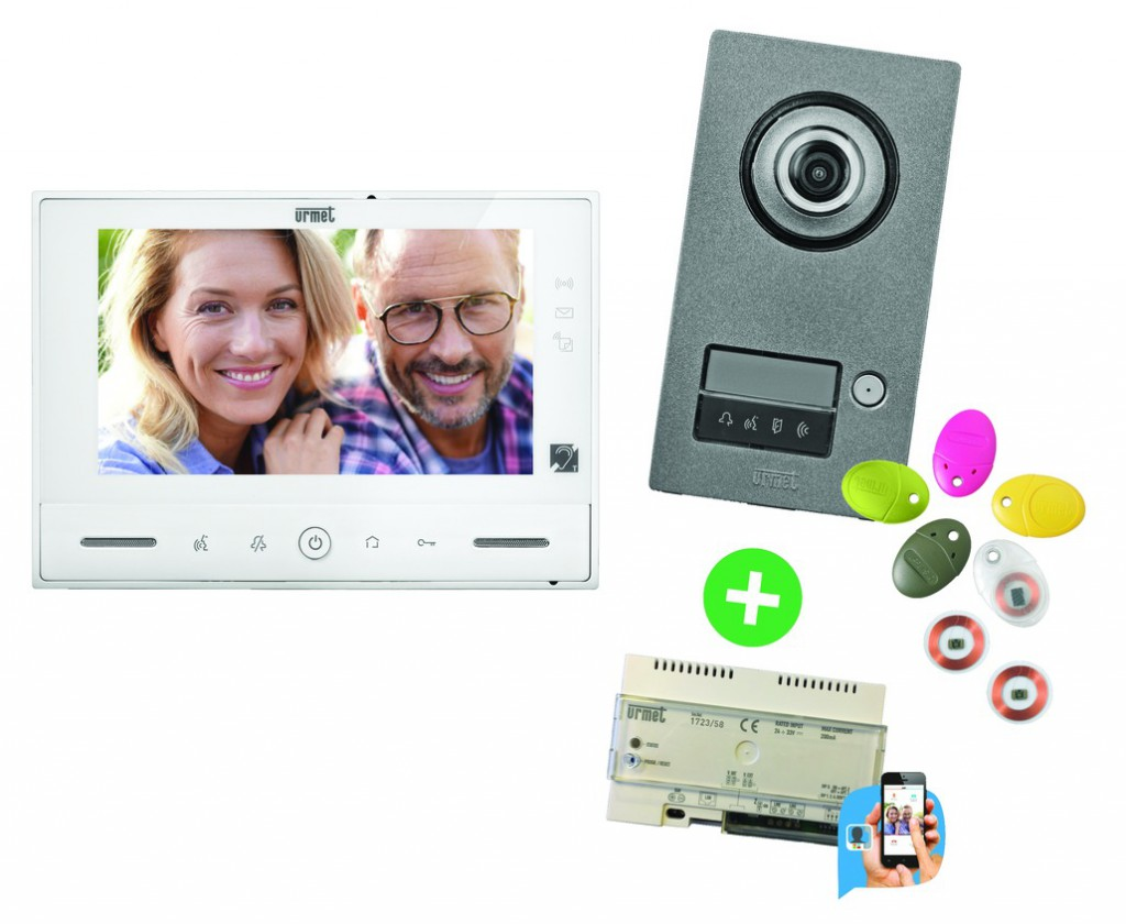 Portier vidéo : Kit vidéo Note 2 + module call me