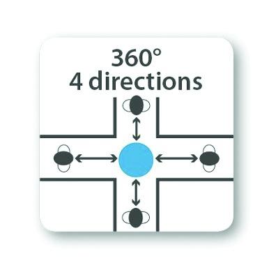 MIROIR HEMISPHERIQUE 360° D600MM