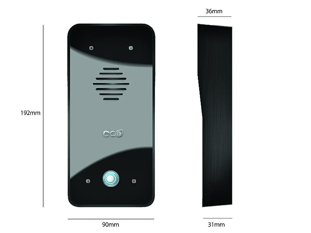 Interphone sans fil : Kit interphone ECO 603